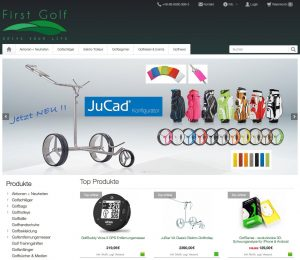 First Golf - Drive Your Life online shop for golf products